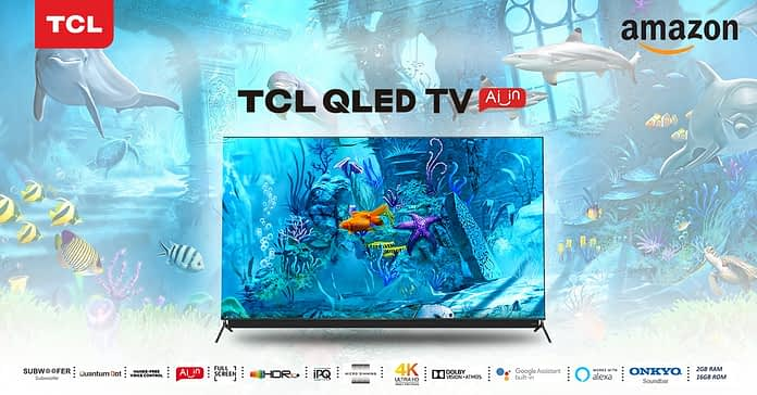 TCL C815 & C715 4K QLED TV Series Now Available on Amazon India